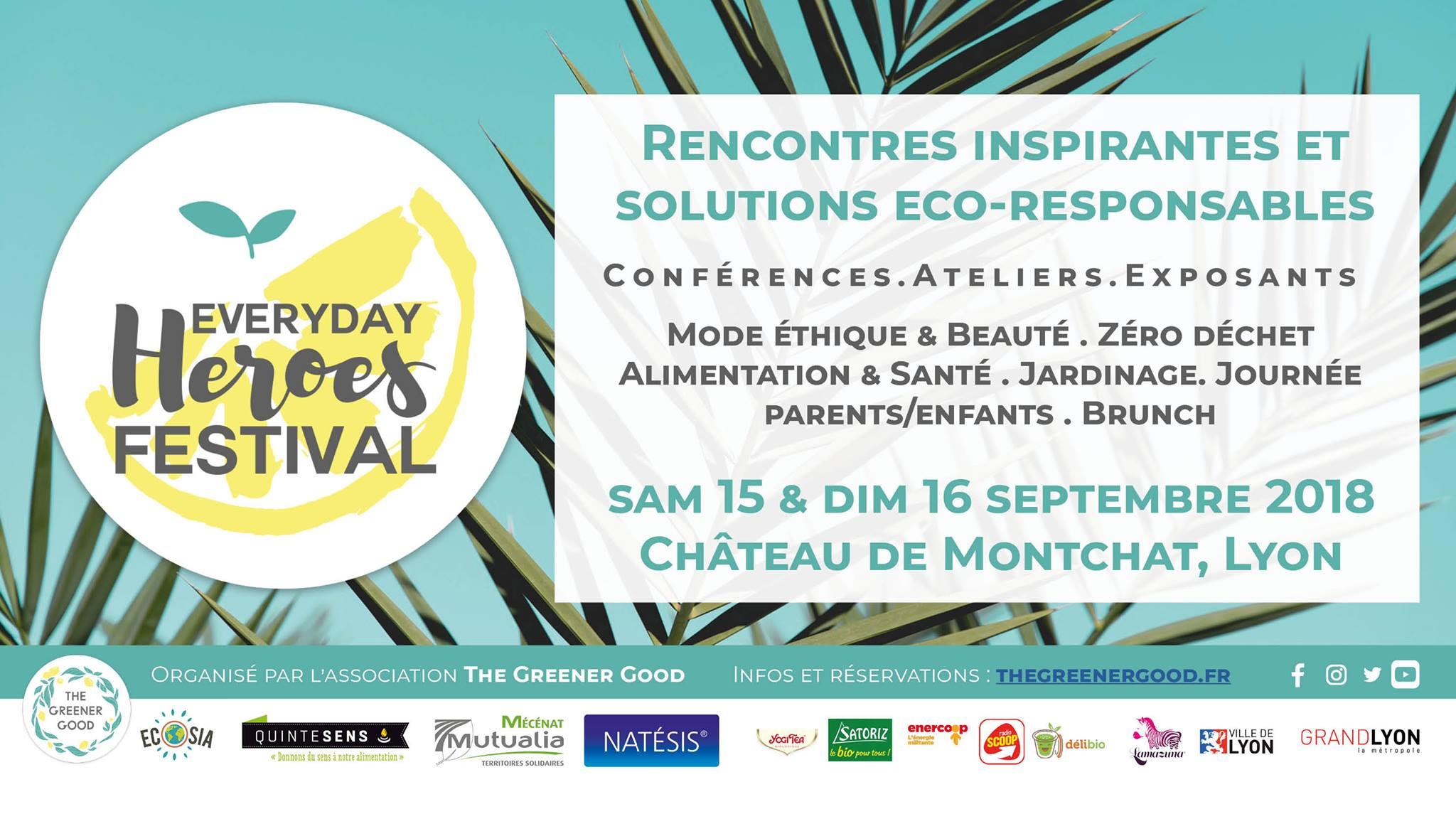 Festival Everday Heroes avec The Greener Good à Lyon