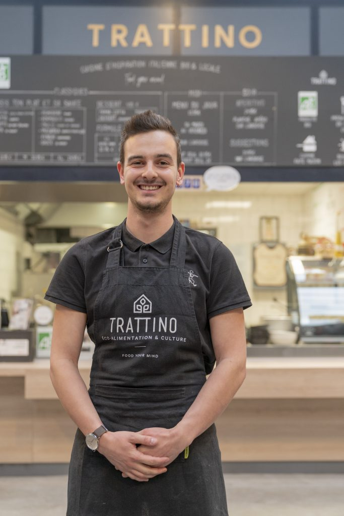 Guillaume Tratti'team cuisine d'inspiration italienne bio et locale