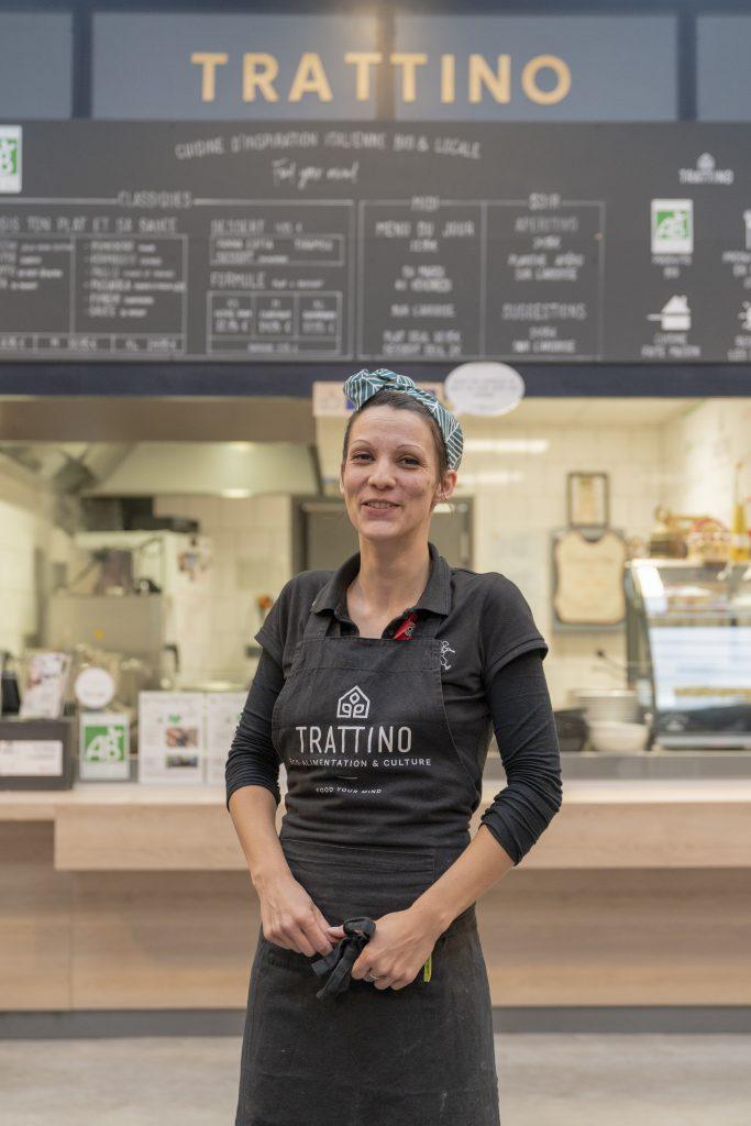 Honorine Tratti'team cuisine d'inspiration italienne bio et locale