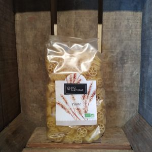 Pâtes blanches ruote 500g