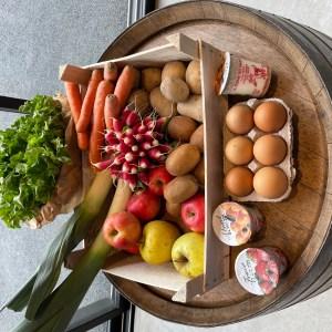 Panier de fruits et légumes +