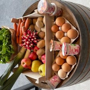 Panier de fruits et légumes ++